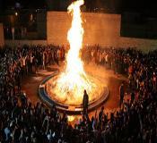مراسم جشن سده زرتشتیان | یزد