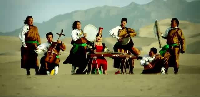 موسیقی ملل - موسیقی مغولی - ارکستر سازهای مغولستان